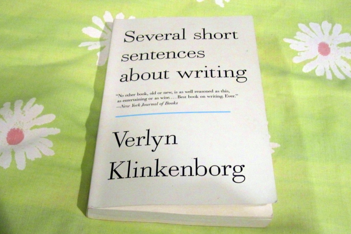 "Book Review: ""Several short sentences about writing"" by Verlyn Klinkenborg"