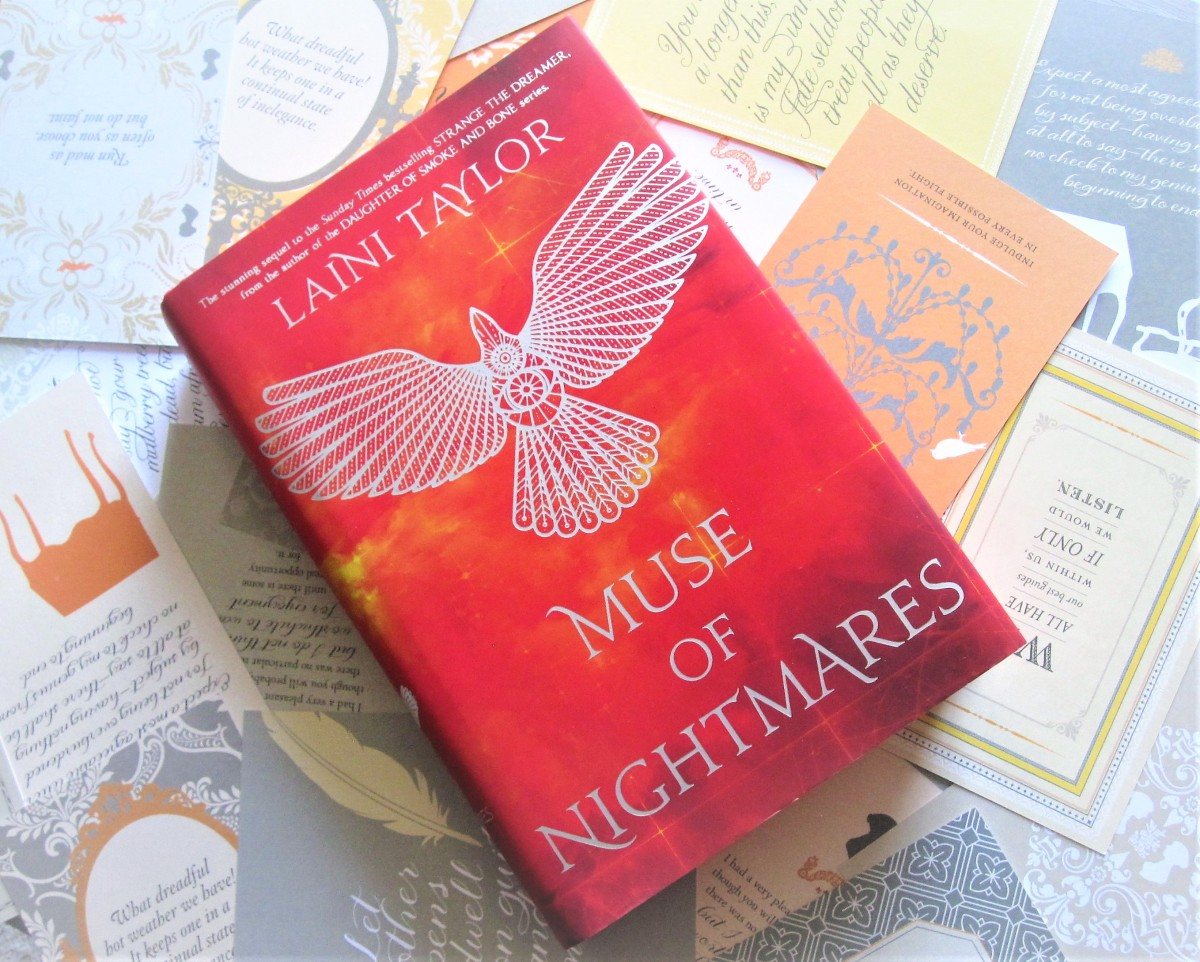 "Book Review: ""Muse of Nightmares"" by Laini Taylor"